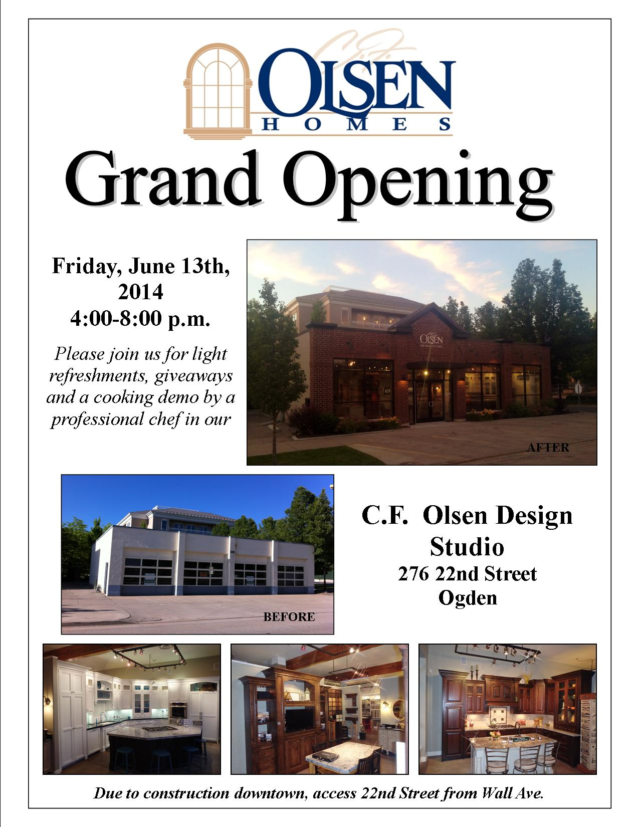 KW Edit-Grand Opening flyer for HOMES